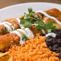 Fantastic enchiladas