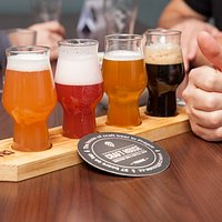 Craft beer tasting flight set 4x150ml
