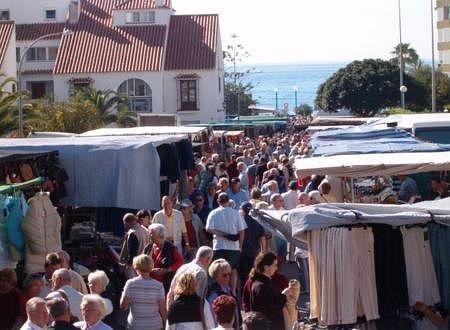 Torrox Monday Street Market
