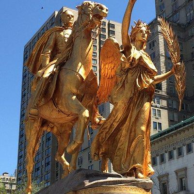 William Tecumseh Sherman Monument - up close
