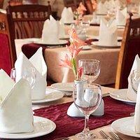 Enjoy tempting Lebanese cuisine in arabesque surroundings at Kabab-Ji.