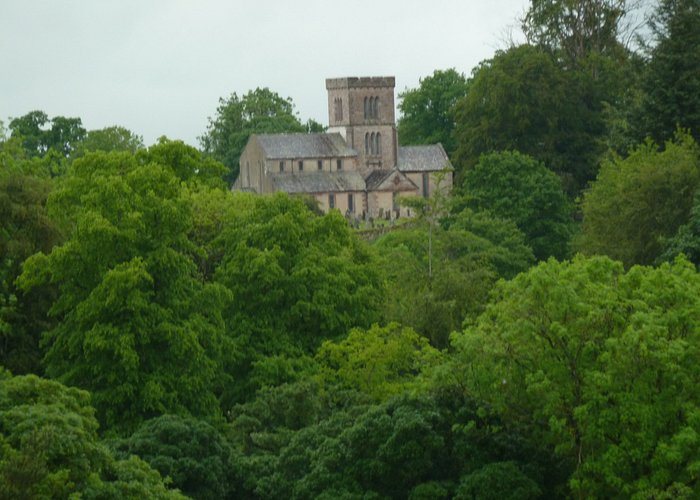 Church from Askham Hall