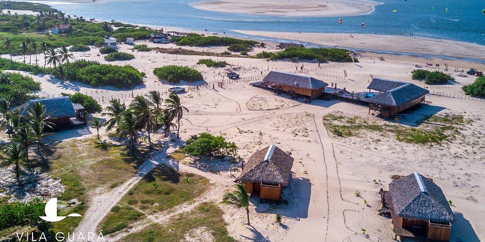 Drone view on Vila Guará Atins (Maranhão, Brasil)