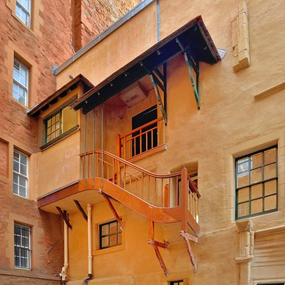 The Pentice Stair at Riddle's Court