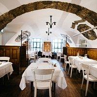 Gewölbe Restaurant arthotel Blaue Gans Salzburg