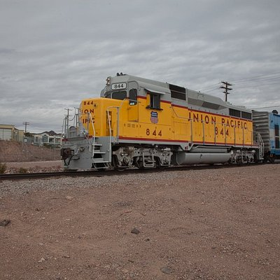 Our #844 (former Union Pacific) GP-30, our prime diesel engine