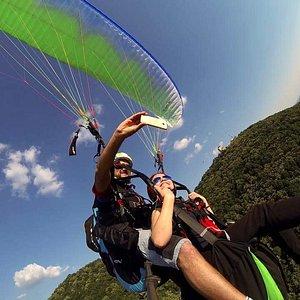 Paragliding Tandem Flight in Vrsac, Serbia