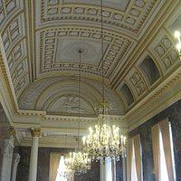 salle de réception du palais, 1827