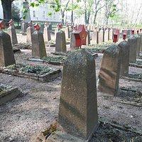 Swojetischer Friedhof, Lutherstadt Eisleben, Alemania.