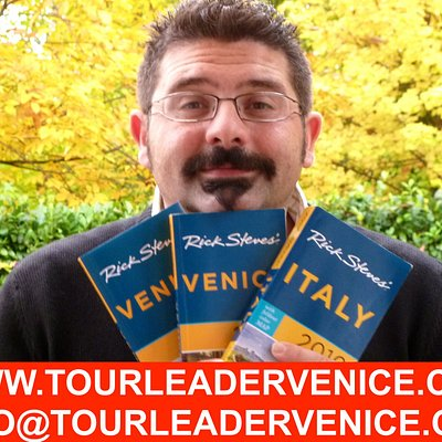 tour leader venice recommended by Rick Steves and tripadvisor