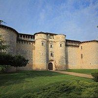 façade du château de Mauriac