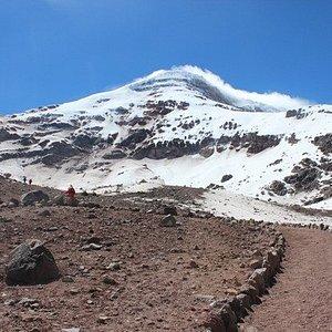 Sentiero e Chimborazo