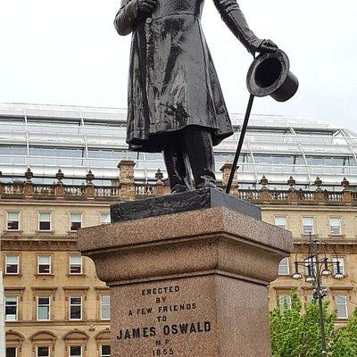 James Oswald Statue