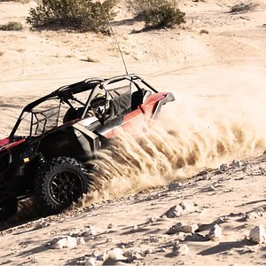 Our brand new Can Am Maverick X3s!