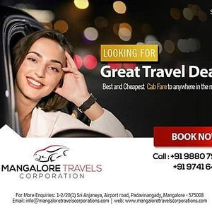 Great travel deals with Mangalore Travels Corporation