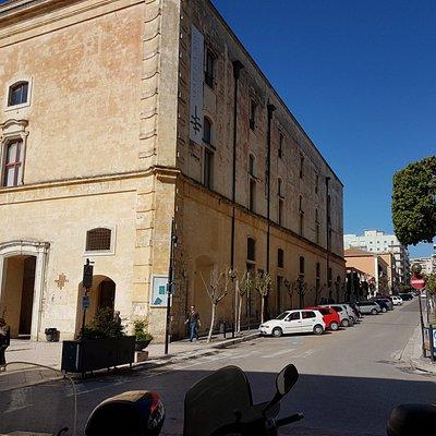 Vista Biblioteca fra via Roma e Piazza Vittorio Veneto