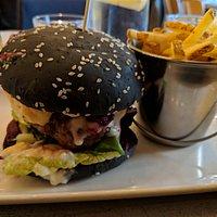 Lamb & Beet Burger