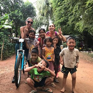 this is the best bicycle tour in Battambang