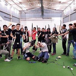 Archery Battle & Bubble Battle for Team Building!