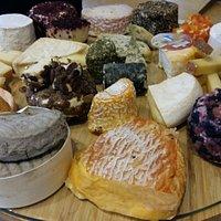 Plateau de fromages régionnal.