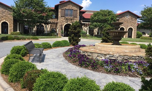 Front entrance to the Richard Childress Winery