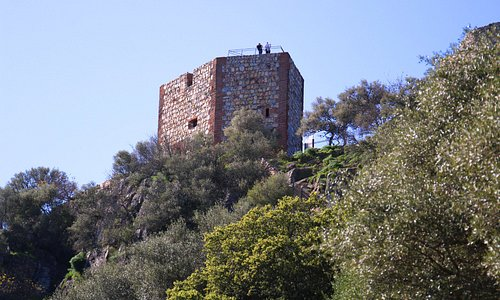 Castillo de Monfagüe   Parque Nacional de Monfragüe, Extremadura, Spain