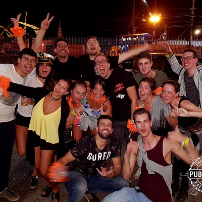 Second party #PiscoSour #LatinMusic #Rooftop #PartyTour #Pubcrawl #PubcrawlValparaiso #PubCrawlC