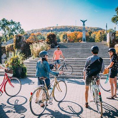 Montreal Bike Tour - Jeanne Mance Park