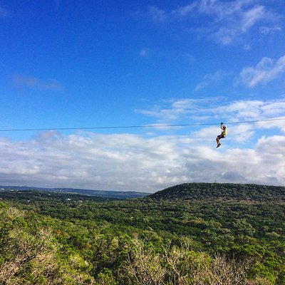 Get the party started with a zipline tour!