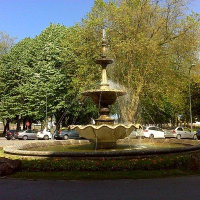 Fuente del Muelle, junto al parque homónimo.