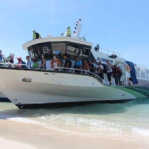 Fast boat Bali to Gili Trawangan Lombok