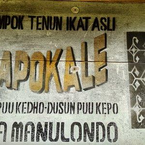 Kapokale Is The Name Of Ikat Weaving Group In Ndona Village