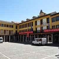 Street view plaza.