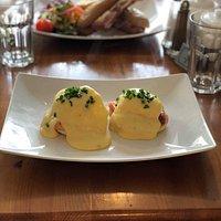 Delicious eggs royale!