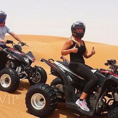 ATV's & Dune Buggies are a must do along with the Dubai Desert Safari.