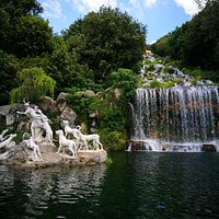 Fountain of Diana and Acteon, Royal Palace of Caserta Park
