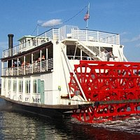 The Indian River Queen Paddle Wheel Riverboat. Available for private charter & public cruises