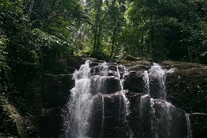 The hidden gem of kiansom, the 7th waterfall, trail are only known to some and unknown to most v