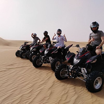 dubai quad bike safari