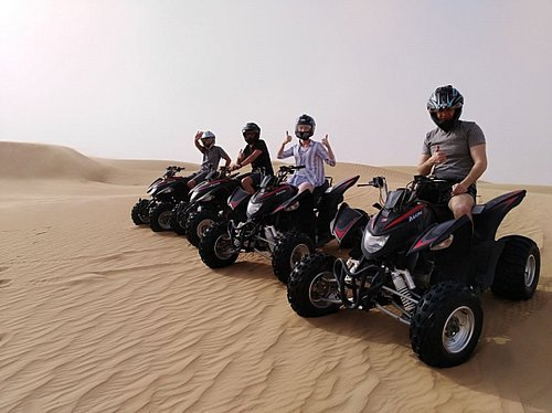 dubai quad bike safari