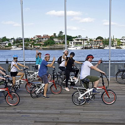 A fun ride down by the Brisbane River