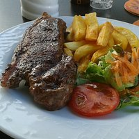 14oz New York strip loin steak
