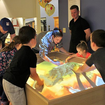 Experience New England's first Animated Sandbox in our newly renovated Science & Energy Studio!