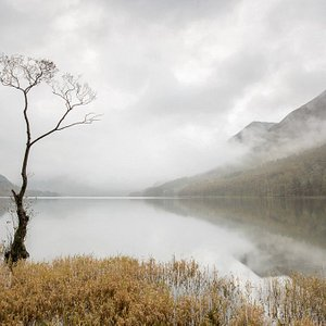 A misty morning at Buttermere