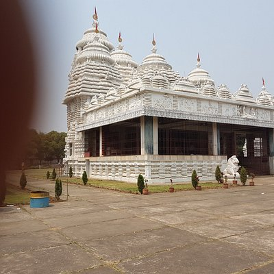 Distance view of temple.