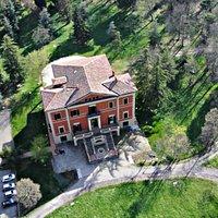 Vista dall'alto Villa Palazzona di Maggio