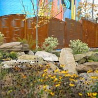Decorative Screens - Vicki Scuri; Pays homage to Hagerstown's huge railroading past.
