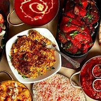 Biryani, Tandoori Mixed Grill, Chicken Tikka Masala, Naan,Butter Masala, Pilau Rice, Pasanda