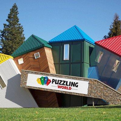 The Tumbling Towers @ Puzzling World, Wanaka