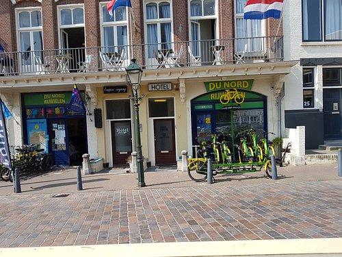 Scheveningen, Rijwielhandel du Nord, to rent a bycyle